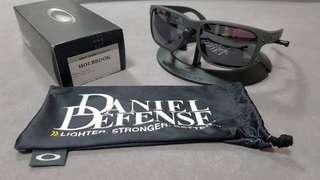 e4848e8452 Oakley holbrook daniel defense limited edition oo9102-c355 black iridium  lens