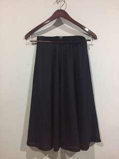 H&M Mesh Material Skirt