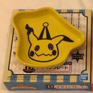 Japan Tokyo Pokémon Centre Mimikyu 一番抽 D獎 大頭碟 細碟 豉油碟