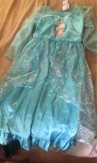 Frozen dress costume (in very good condition) original/authentic frozen costume from DISNEY STORE IN ITALY