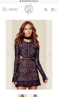 Looking for : for love and lemons emerie dress navy