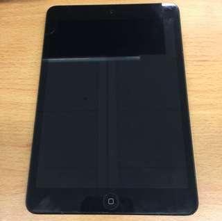 Apple Black iPad mini 1 16GB Slate Edition 黑色 WiFi 版 (model A1432) tablet