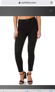 Black ROLLAS eastcoast high waisted skinny jeans