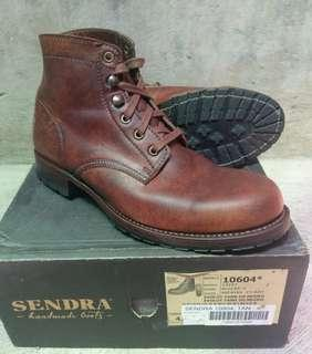 Sendra boots made italia size 8D  original authenthic