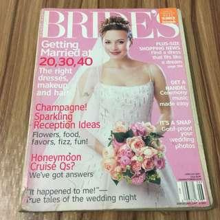 Bride's Magazine June/July 2001
