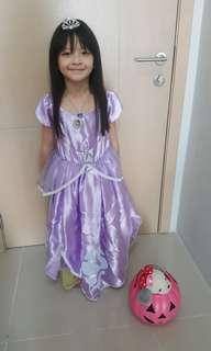 Sofia the first costume gown