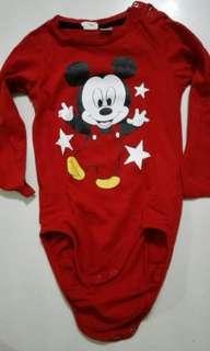 Disney Micky rompers