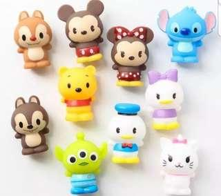 Disney characters cake toppers/ Figurine/toy/Display