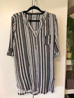 Women's XL stripey top