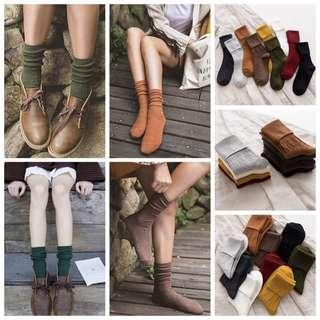 [PRE ORDER] Thick Cotton Soft Socks