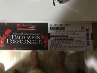 USS Halloween horror Night Tickets-1 pair