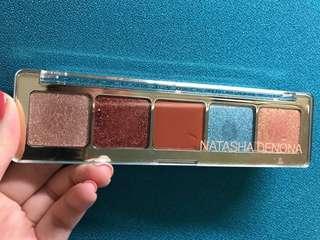 Natasha denona eyeshadow palette 5 metallic duo chrome #Aeris
