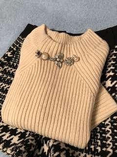 New Snidel knit top