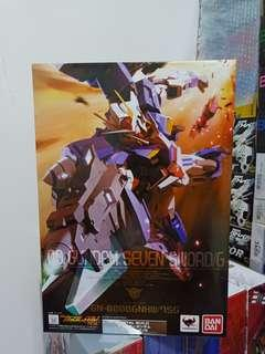 Bandai metal build seven sword gundam