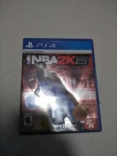 NBA2K15 ps4 game