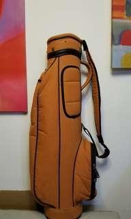 小有橙色輕巧 Golf Bag 女士合適