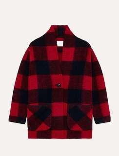 Aritzia Wilfred Free Neelam Wool Coat