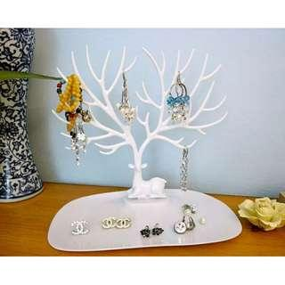 Earring Necklace Jewerly Rack Display Stand Holder Hanger