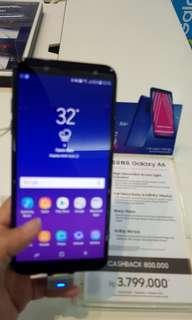 Samsung galaxy A6 bisa cicilan tanpa cc proses 3menit