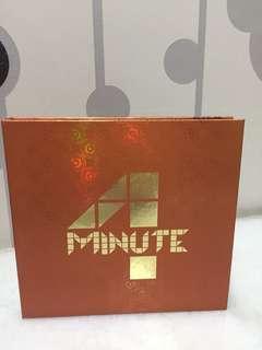 4MINUTE THE FIRST ALBUM