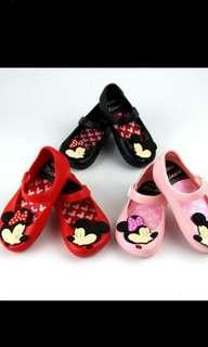 Kids Jelly Shoe Red Girl Toddler Mickey Minnie Sandal