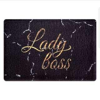 Lady Boss Door Mat