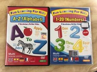 Fun learning DVD (A-Z) & Number