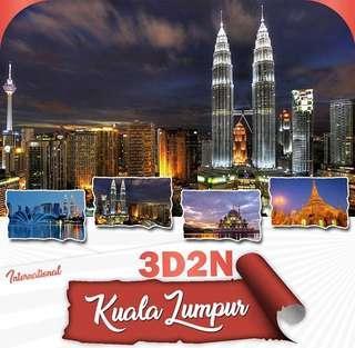 3D2N KUALA LUMPUR PACKAGE w/ AIRFARE