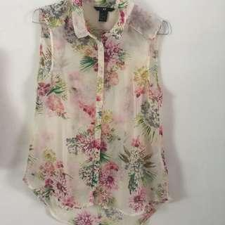 H&M HNM floral tank top