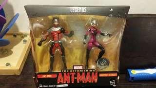 MARVEL LEGENDS ANTMAN & WASP 2PACK 6 INCH TRU  EXCLUSIVE
