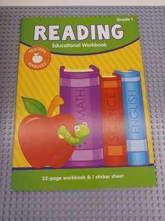 Grade 1 Reading workbook