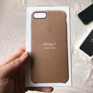 Luxury Brown and Black (Bonus) Leather Case for iPhone7