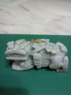 Pair of Jade Pi Yao