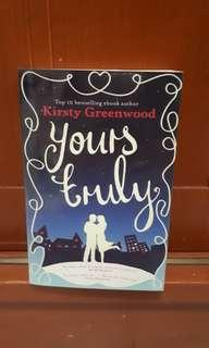 Novel Kirsty Greenwood Yours truly (english)
