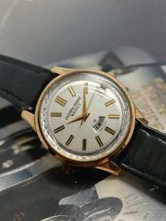 OLYMPIA ORIENT WEEKLY SPECIAL 19 JEWELS HAND WINDING WATCH