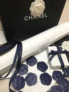 Chanel gift wrapping accessories