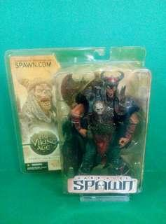 "2002 McFarlane Toys Spawn The Bloodaxe Spawn 7"" inch action figure The Viking Age 再生俠"