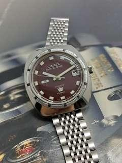 CITIZEN CRYSTAL SEVEN CUSTOM 23 JEWELS AUTOMATIC WATCH 1968's