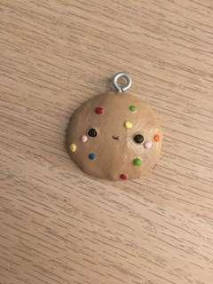 POLYMER CLAY CHARM (COOKIE)