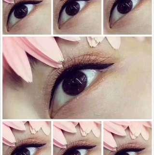 $128 eyeliner Embroidery promotion