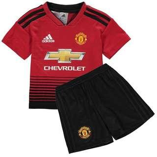 b1c30ace6 Manchester United 18 19 Youth Kits