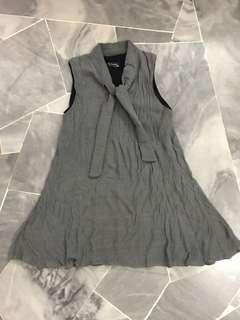 Halter grey dress
