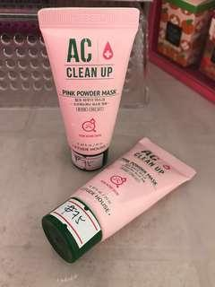 Etude House AC Clean Up Pink Powder Mask Sampler 20m