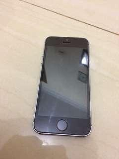 iphone 5s 16gb space grey batangan