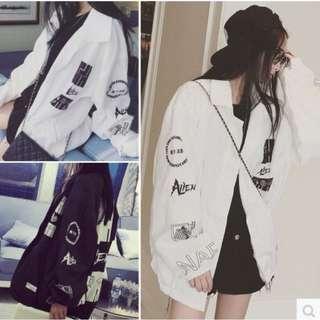 •INSTOCK• White Street Bomber Jacket