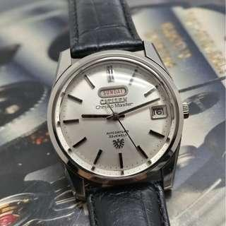 CITIZEN CHRONO MASTER AUTO DAY DATE 33 JEWELS AUTOMATIC WATCH 1968's