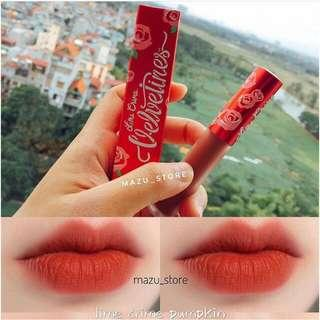 Lime Crime Lipstick Lipstain Pumpkin