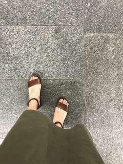 🚚 真皮涼鞋 | 全真皮 繫帶 氣質 涼鞋 24/38 義大利 佛羅倫斯帶回