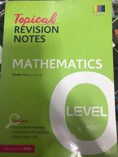 TYS O level revision notes book
