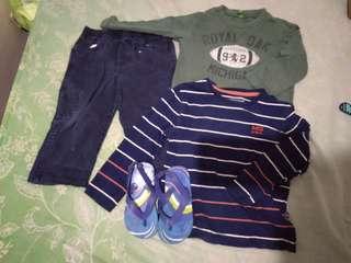 Preloved set for baby boy